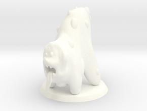 Chaos Daemon - Beast of Nurgle 2/Slime Beast 2 in White Processed Versatile Plastic