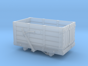 FR 5 Plank Wagon 4mm Scale in Frosted Ultra Detail