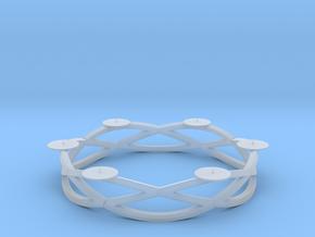 Circular candelabrum in Smooth Fine Detail Plastic