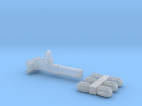 Mills Bombs and Mortar Upscaled in Smoothest Fine Detail Plastic