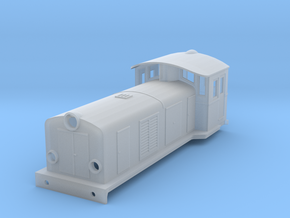 Swedish SJ electric locomotive type Ua - H0-scale in Smooth Fine Detail Plastic