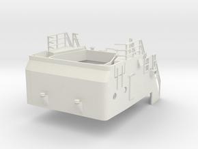 Superstructure 1/50 V60 fits Harbor Tug  in White Natural Versatile Plastic