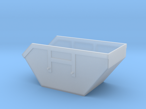 1/87 Container_10 in Smooth Fine Detail Plastic