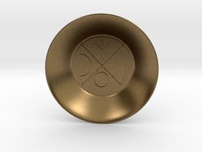 Seal of Venus Charging Bowl (small) in Natural Bronze