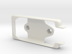 Brixometer 5G Ram Mount in White Natural Versatile Plastic