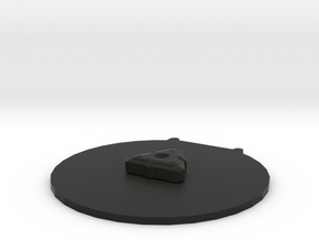 Proximity Mine - 3D  in Black Natural Versatile Plastic