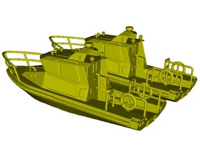 1/200 scale US Coast Guard river patrol boats x 2 in Smooth Fine Detail Plastic