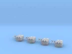 1/200 dkm 15cm SK C/34 in Drh L C/34 mount Set in Smooth Fine Detail Plastic