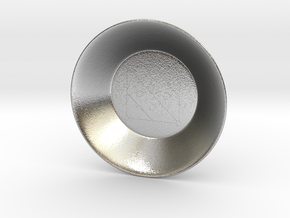 Seal of Mercury Charging Bowl (small) in Natural Silver