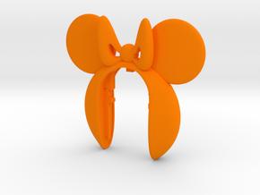 MINIE MOUSE 10 KEY FOB  in Orange Processed Versatile Plastic