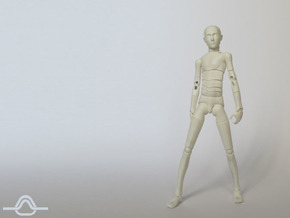 1:12 FUD ALTER EGO Male Bjd Doll Kit in Frosted Ultra Detail