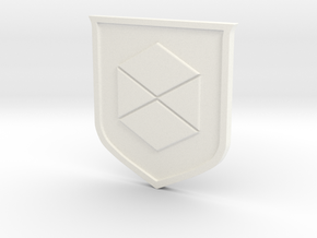 Titan Sigil in White Strong & Flexible Polished