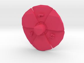 Radiation d6 in Pink Processed Versatile Plastic