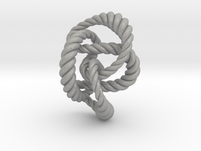 Knot 8₂₀ (Rope)  in Aluminum: Extra Small