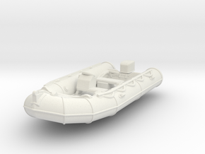 Zodiac 01. 1:72 Scale in White Natural Versatile Plastic