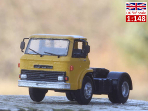 Ford D series (Late version) tractor truck UK N sc in Smoothest Fine Detail Plastic