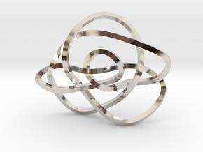 Ochiai unknot (Square) in Platinum: Extra Small