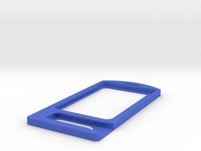 Cool Badge V1 in Blue Processed Versatile Plastic