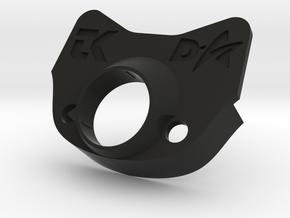 Grom Gauge Holder TKGarage DStarAir with buttons in Black Natural Versatile Plastic