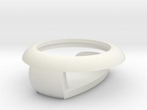 WithingsNokiaGoClip in White Natural Versatile Plastic
