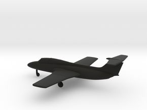 Aero L-29 Delfin in Black Natural Versatile Plastic: 1:144