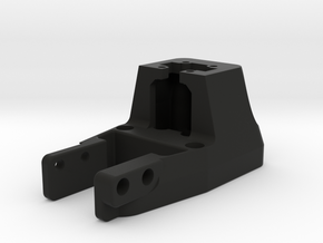 Horn Dummy Block Rev02b in Black Natural Versatile Plastic
