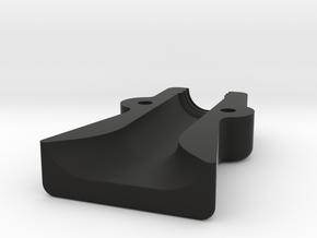 Strain Relief Upper Block 12MM REV02 in Black Natural Versatile Plastic