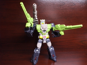 Shatterblaster for Titans Return Hardhead in White Processed Versatile Plastic