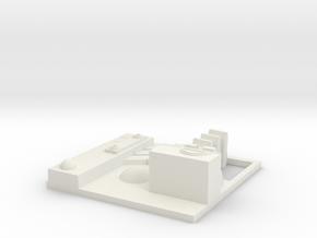 tile_deathstar_6 in White Natural Versatile Plastic