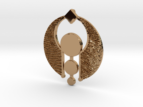 The SANDS of NEFERTITI  by Cameleor Les Sables de  in Polished Brass