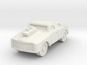 Generic Car - Armored Free Download in White Natural Versatile Plastic
