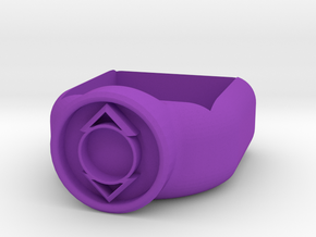 Indego Lantern Corps Chalk Holder in Purple Processed Versatile Plastic