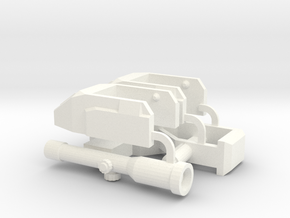 TR: Ranger's Gears v1.2 for Perceptor  in White Processed Versatile Plastic