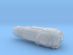 Hollow Arm Cannon in Smooth Fine Detail Plastic
