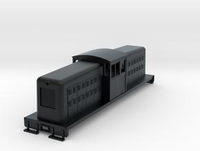 HOn30 large center cab body for Tomix TM-05 v1 in Black Hi-Def Acrylate