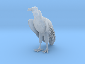Lappet-Faced Vulture 1:6 Standing in Smooth Fine Detail Plastic