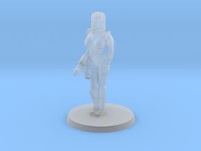 Katrina Space Explorer in Smooth Fine Detail Plastic