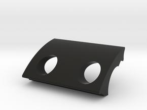 The Destroyer LED holder in Black Natural Versatile Plastic