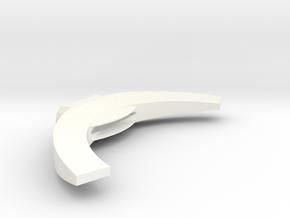 Gondor Sword Hilt in White Processed Versatile Plastic