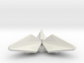 3788 Scale Tholian Patrol Corvette Pinwheel SRZ in White Natural Versatile Plastic
