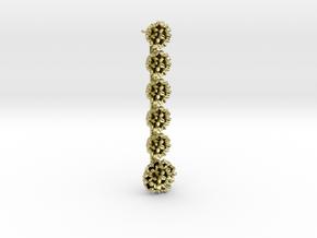 Frida Earrings in 18k Gold Plated Brass
