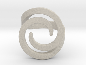 Fashion ring in Natural Sandstone