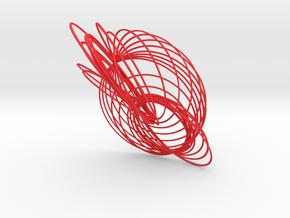 Cassini Equinox - lite in Red Processed Versatile Plastic