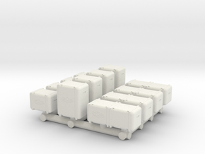 1/87 Scale Bunker-Tec Sampler Pack in White Natural Versatile Plastic