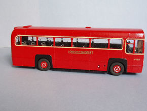 1:43 London Transport RF Bus-Central Area Body in White Natural Versatile Plastic
