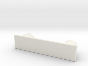 SCX10ii_body_mount_front in White Natural Versatile Plastic