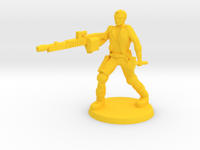 Galen Bounty Hunter (B) in Yellow Processed Versatile Plastic