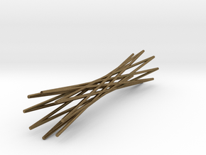 Knife Rest Twisted Wire1.1 in Natural Bronze