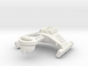 3788 Scale Klingon F5 Frigate WEM in White Natural Versatile Plastic