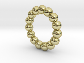 Infinite Spheres Ring in 18k Gold Plated